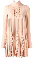 DSQUARED2 ruffled design dress - women - Silk - 38