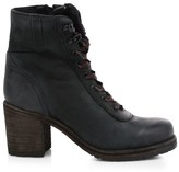 Frye Karen Shearling-Lined Leather Hiking Boots