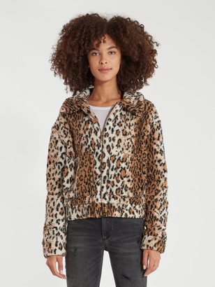 4SI3NNA the Label Noelle Faux Fur Jacket