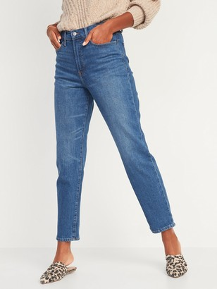 Old Navy Extra High-Waisted Sky-Hi Straight Jeans for Women