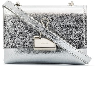 Off-White small Binder Clip crossboody bag