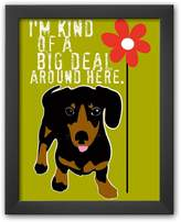 "Art.com Big Deal"" Framed Art Print by Ginger Oliphant"