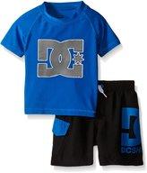 DC Baby Rashguard Top and Microfiber Shorts