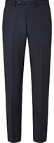 John Lewis Regular Fit Birdseye Suit Trousers, Navy