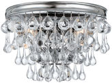 Crystorama Calypso 2-Light Sconce, Chrome