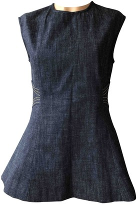 Derek Lam Blue Cotton Top for Women