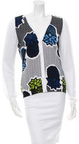 Moschino Cheap & Chic Moschino Cheap and Chic Printed Button-Up Cardigan w/ Tags