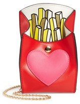 Capelli of New York Girl's French Fries Faux Leather Bag - Red