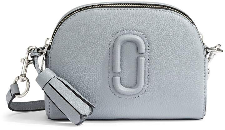 Marc Jacobs Double-Zip Leather Crossbody