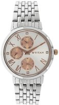 Titan Women's 2569KM01 Contemporary - Multifunction - Dial Metal Strap Watch