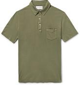 Officine Generale BD Cotton-Jersey Polo Shirt