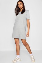 boohoo Scarlett Roll Back Ponte Shift Dress