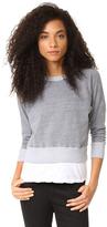 Monrow Double Layer Sweatshirt