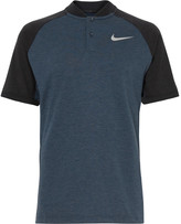 Nike Golf - Mélange Dri-fit Golf Polo Shirt