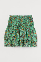 Thumbnail for your product : H&M Patterned tiered skirt