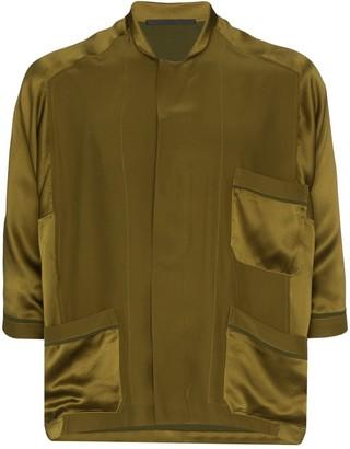 Haider Ackermann Dali pajama-style shirt