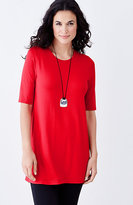 J. Jill Wearever Elbow-Sleeve Tunic