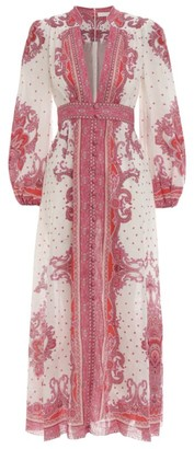 Zimmermann Paisley Bells Dress