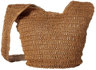 Hat Attack Soft Slouch Bag (Toast) Handbags