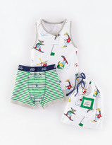 Boden Boxers And Vest Set