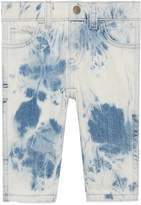 Gucci Baby marble washed denim pant