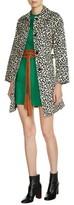Maje Women's Leopard Print Coat