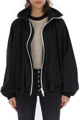 Givenchy Contrasting Zipper Oversize Windbreaker