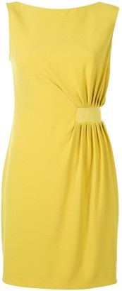Paule Ka Twist Front Mini Dress