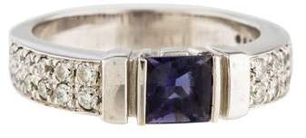 Di Modolo 18K Iolite & Diamond Band