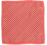 Chanel Logo Print Pocket Square