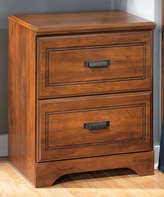 Signature Design by Ashley Brown Barchan Two-Drawer Nightstand