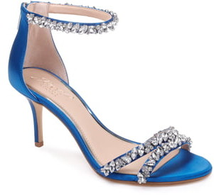 bb8d22c6a7 Blue Ankle Strap Women's Sandals - ShopStyle