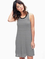Splendid Drapey Lux Stripe Swing Dress