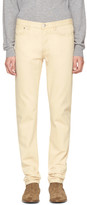 A.P.C. Beige Petit New Standard Jeans