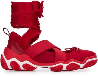 RED Valentino RED(V) Ballet tie-ankle sneakers
