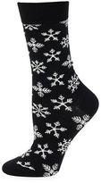 Happy Socks Snow Flake Crew Socks