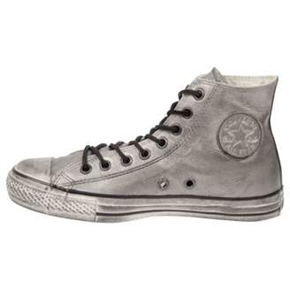 Converse \N Silver Leather Trainers