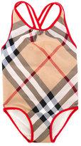 Burberry House Check swimsuit - kids - Nylon/Polyester/Spandex/Elastane - 12 yrs