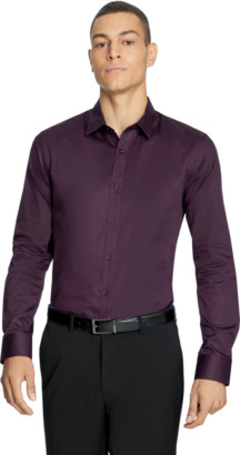 yd. Berry Mission Slim Fit Dress Shirt