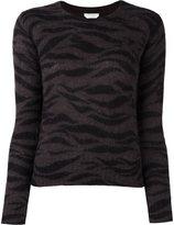 See by Chloe zebra print jumper