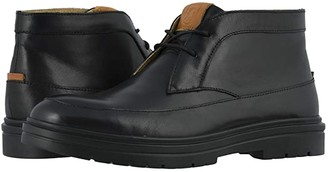 Stacy Adams Alcander Moc Toe Chukka Boot (Black) Men's Shoes