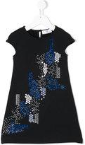 Versace studded T-shirt dress