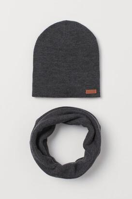 H&M 2-Piece Merino Wool Set