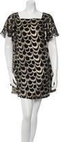Loeffler Randall Silk Brocade Dress