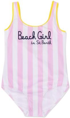 MC2 Saint Barth TEEN striped swimsuit