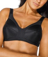 Dominique Black Wireless Soft-Cup Isabelle Bra - Plus Too