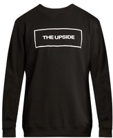 The Upside Logo-print crew-neck sweatshirt