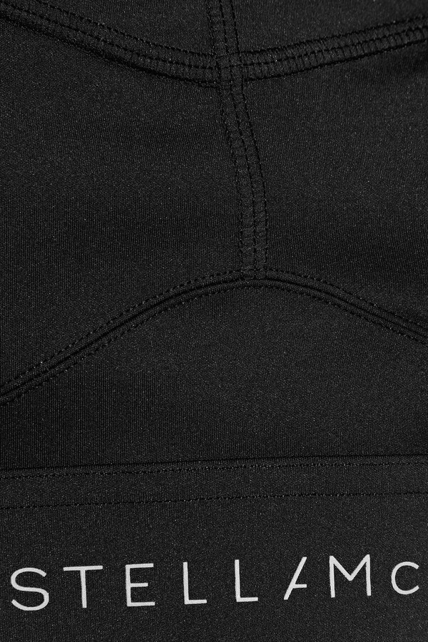 Thumbnail for your product : adidas by Stella McCartney Performance Essentials Mesh-paneled Stretch Sports Bra