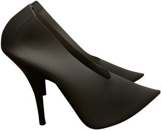 Yeezy Black Plastic Heels