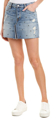 Rails Wynonna Studded Denim Mini Skirt